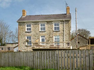 The Farmhouse, detached farmhouse, countryside views, private hot tub, decked - Llandysul vacation rentals