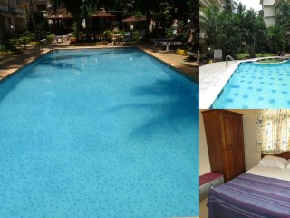 39) 1 Bed Apartment CDB Resort Calangute  & WiFi sleeps 4 - Calangute vacation rentals