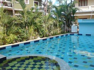 39) 1 Bed Apartment CDB Resort Calangute  & WiFi sleeps 4 - Calangute vacation rentals
