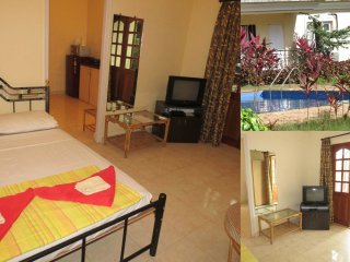 43) Studio Keiran Park Apartment Central Calangute - Calangute vacation rentals