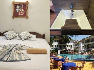 52) Private Studio in Alor Grande Resort Candolim + WiFi - Candolim vacation rentals