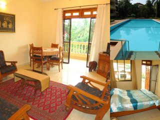 18) Spacious 2 Bedroom Apartment Regal Palms, Candolim with WiFi - Candolim vacation rentals