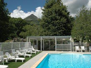 Duplex avec piscine dans Grange auvergnate rénovée - Saint-Jacques-des-Blats vacation rentals