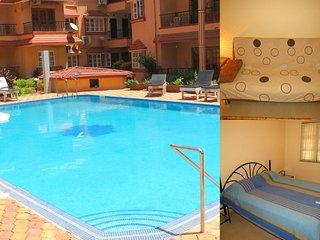 42) 1 Bedroom Apartment Calangute/Baga Sleeps 2/4 - Calangute vacation rentals