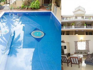 09) Quiet Spacious Apartment Sleeps 4 Families/Couples & Wifi - Saligao vacation rentals