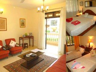 33) Ground Floor Spacious 2 bedroom Apartment, Regal Palms, Candolim & WiFi - Candolim vacation rentals