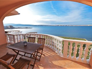 Magnificent flat in Vidalici, Croatia, with balcony and panoramic sea views - Vidalici vacation rentals