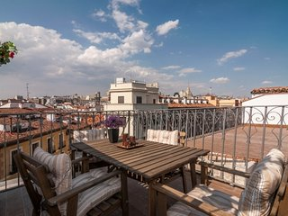 CR177dMadrid - Penthouse with Terrace  Mayor/ Sol - Madrid vacation rentals