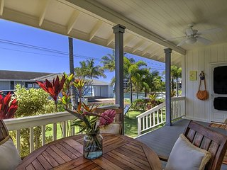 Ho'ona Hale - Delightful 2 Bedroom Cottage with Whitewater Ocean Views - Koloa vacation rentals