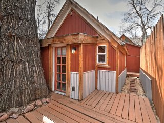 NEW! 1BR Manitou Springs Cabin on the River! - Manitou Springs vacation rentals