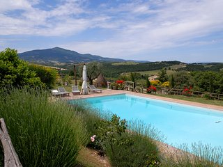 Stone farmhouse with private pool in a large property - Siena vacation rentals