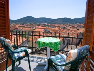 Apartments Marko - Studio Apartment with Balcony and Sea View 2 - Vela Luka vacation rentals