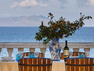 Luxury villa near the sea and the beach with wonderful view of Aeolian Island - San Giorgio vacation rentals