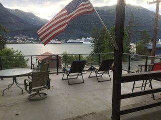 "Douglas Island Retreat  ""Alaskan Blue Heron Room"" Awesome view of  Juneau Sights - Juneau vacation rentals"