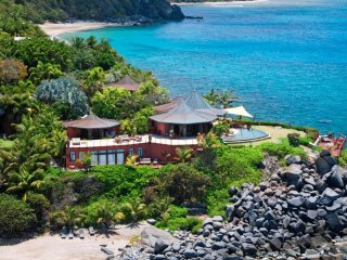 Luxury 5 bedroom Virgin Gorda, BVI villa. Private Beach, Chef and Spa/Yoga - Nail Bay vacation rentals