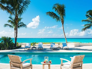 Luxury 5 bedroom Turks and Caicos villa. Luxury Beachfront! - Grace Bay vacation rentals