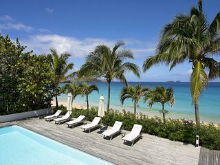 Luxury 8 bedroom St. Barts villa. Located on Flamands beach! - Flamands vacation rentals