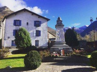 """Résidence de tourisme """" Aux Volets bleus d'Aulus """" Le petit espace détente - Aulus-les-Bains vacation rentals"""