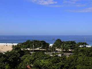 Rio050 - Apartment in Copacabana with ocean view - Copacabana vacation rentals