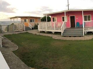North Shore Mokuleia Beach Ocean/Beach Front Pink Cottage - Waialua vacation rentals
