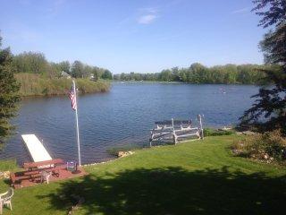 Year Round Fun Lake Front Vacation Rental - Lake Lancelot; Sugar Springs - Gladwin vacation rentals