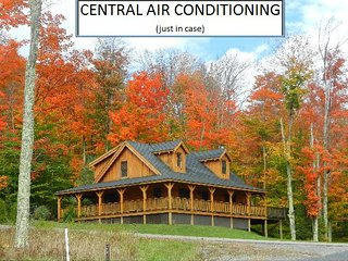 11 Acre Lake  -  North Lake Cabin - Central Air Conditioning - Canaan Valley vacation rentals