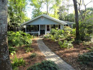 Pet Friendly, South End Island Cottage, Short Walk to Village and Beach - Saint Simons Island vacation rentals
