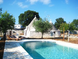 "Exclusive ""Trullo Stefano"" with private pool at 20km from stunning beaches - Coreggia vacation rentals"