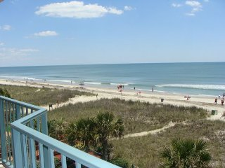 3 Bedroom Direct Oceanfront Condo! Outdoor Swimming Pool, WIFI, Jacuzzi Tub - North Myrtle Beach vacation rentals