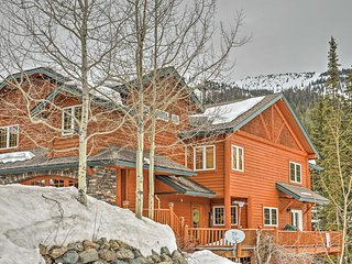 NEW! Elegant Ski-In/Ski-Out 4BR Whitefish Townhome - Whitefish vacation rentals