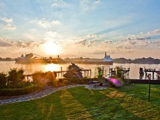 Ship Watcher's Paradise on the St. Clair River - Marine City vacation rentals