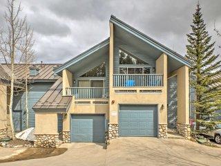 New! 4BR Breckenridge Townhome w/ Private Hot Tub! - Breckenridge vacation rentals