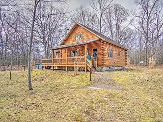 NEW! Remote 1BR Pentwater Cabin w/ Views & Privacy - Pentwater vacation rentals