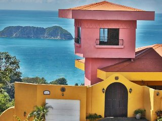 3 Huge Ocean-Front Balconies; Perfect Pacific Views at Villas del Sol - Manuel Antonio vacation rentals
