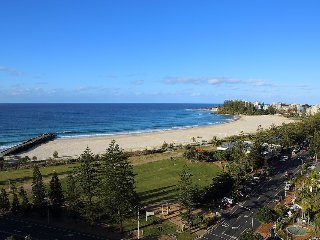 Blue C 1304- Beachfront Coolangatta! - Coolangatta vacation rentals