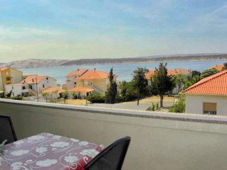 Sea view two bedroom apartment in Barbat - Barbat vacation rentals