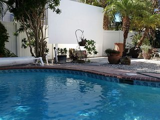 "165"" theater/pool North Island across street from beach - Fort Myers Beach vacation rentals"