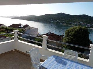 Sea view one bedroom apartment in Seget Vranjic - Seget Vranjica vacation rentals