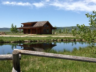 Luxurious Log Cabin on the pond with no Neighbors - Afton vacation rentals