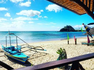 Calitang Beach Resort Room #1,  Twin Beach Nacpan - El Nido vacation rentals