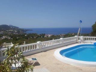 Amazing Villa Cala Tarida Sunset Sea View - Cala Tarida vacation rentals