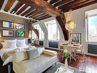 Luxury Large Studio rental, Ile Saint Louis views - Paris vacation rentals