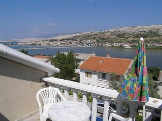 Classic one bedroom apartment in Pag - Pag vacation rentals