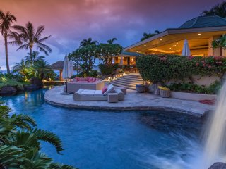 Glamorous 5BD Estate w/Pool, Stunning Ocean & Sunset Views - Kamuela vacation rentals
