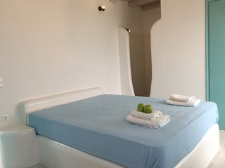 Depis bay villa- 3 bedroom plaka beach with sea view - Plaka vacation rentals