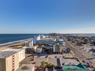 Oceanview condo with private balcony, shared pool access - walk to the beach! - Ocean City vacation rentals
