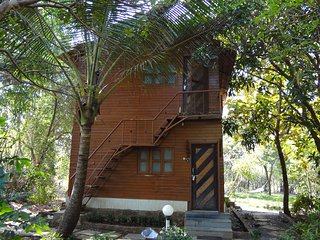 Pooja farm Resort is a 5 acre resort with 16 cottages and 2 swimming pools . - Navi Mumbai vacation rentals