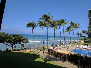 Can't get much Closer to the Ocean! - Kaanapali Shores 259- 2 Bedroom/2 Bath - Ka'anapali vacation rentals