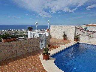 Casa el Pino- Lovely  villa with pool and sea view - Torrox vacation rentals