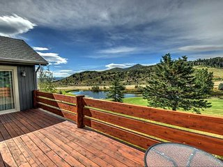 Luxurious, 4000 SF Home Mountain & Golf Course Views! 2 Fireplaces with Private - Park City vacation rentals